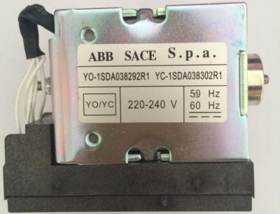 Cuộn hút cho máy cắt không khí ABB, Cuộn ngắt YO-1SDA038292R1, Cuộn đóng YC-1SDA038302R1