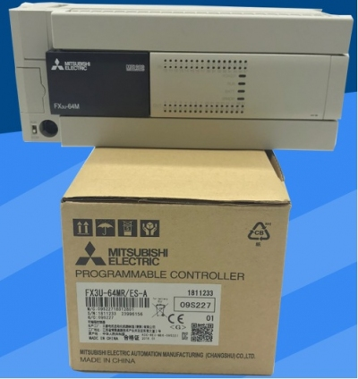 PLC MITSUBISHI FX3U-16/32/48/64/80/128MR/MT/ES-A/DS