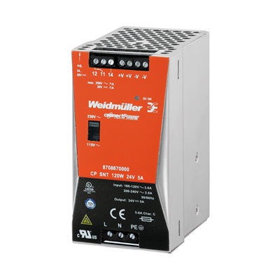 BỘ NGUỒN WEIDMULLER CP SNT 120W 24V 5A 8708670000