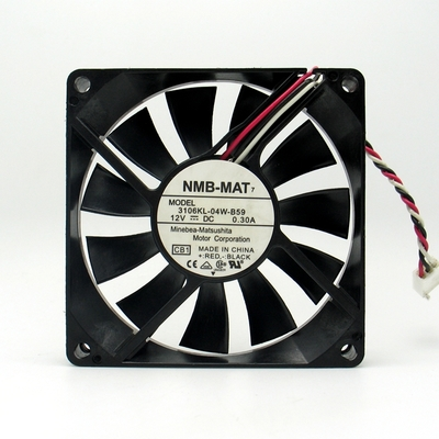 QUẠT LÀM MÁT BIẾN TẦN, NMB 3106KL-04W-B59 8015 8cm 12V 0.30A