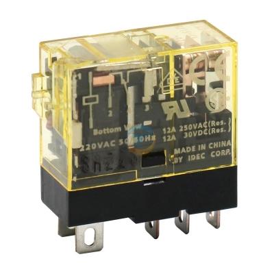 Rơ le trung gian, IDEC intermediate relay RJ1S-CL-D24 DC24V 5 feet 12A